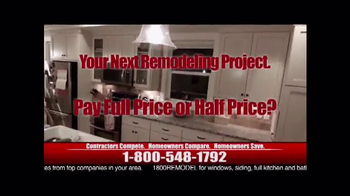 1-800-Remodel TV Spot, 'Would You Rather?' - Thumbnail 1