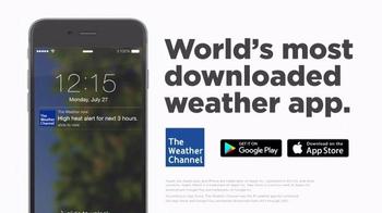 The Weather Channel App TV Spot, 'Car-B-Que' - Thumbnail 8