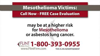 Flint Firm, PLLC TV Spot, 'Mesothelioma' - Thumbnail 4