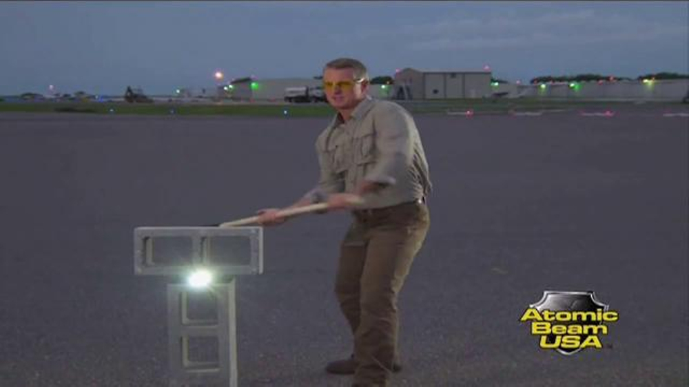 Atomic Beam Tv Commercial Power Outage Featuring Hunter