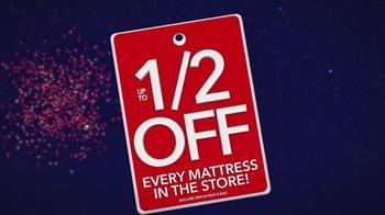 Sleepy's July 4th Holiday Sale TV Spot, 'Nearly Every Mattress' - Thumbnail 1