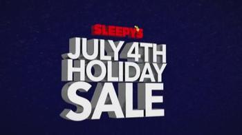 Sleepy's July 4th Holiday Sale TV Spot, 'Nearly Every Mattress' - Thumbnail 7