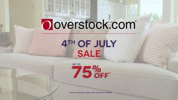 Overstock.com 4th of July Sale TV Spot, 'Furniture & Mattresses' - Thumbnail 5