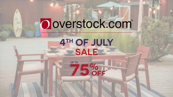Overstock.com 4th of July Sale TV Spot, 'Furniture & Mattresses' - Thumbnail 1