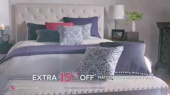 Overstock.com 4th of July Sale TV Spot, 'Furniture & Mattresses' - 231 commercial airings