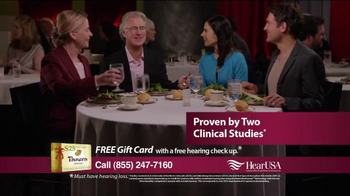 HearUSA TV Spot, 'Restaurant: Dad' - Thumbnail 5