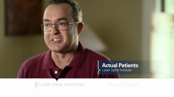 Laser Spine Institute TV Spot, 'Feel an Answer' - Thumbnail 2