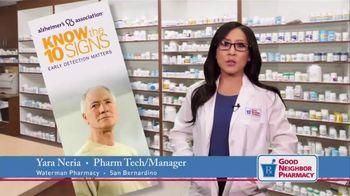 Good Neighbor Pharmacy TV Spot, 'Alzheimer's: Brain Awareness Month'