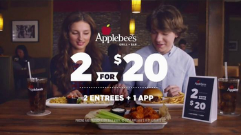 Applebee's 2 for $20 TV Spot, 'First Date' - Thumbnail 9