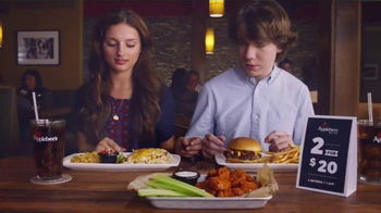 Applebee's 2 for $20 TV Spot, 'First Date' - Thumbnail 4