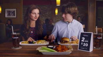 Applebee's 2 for $20 TV Spot, 'First Date' - Thumbnail 7