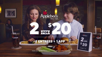 Applebee's 2 for $20 TV Spot, 'First Date' - Thumbnail 8