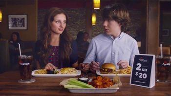 Applebee's 2 for $20 TV Spot, 'First Date'