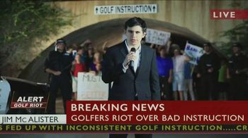 Tathata Golf TV Spot, 'Golfers Riot At Local Course'
