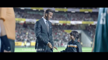 Sprint TV Spot, 'Whistle: Galaxy Tab' Featuring David Beckham - 6 commercial airings