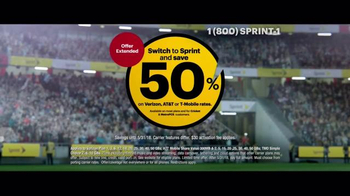 Sprint TV Spot, 'Whistle: Galaxy Tab' Featuring David Beckham - Thumbnail 4