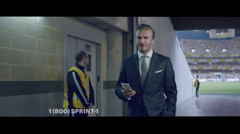 Sprint TV Spot, 'Whistle: Galaxy Tab' Featuring David Beckham - Thumbnail 7