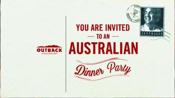 Outback Steakhouse Big Australia Month TV Spot, 'Dinner Party' - Thumbnail 1