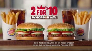 Burger King 2 for $10 Whopper Meal TV Spot, 'Twins' - Thumbnail 8
