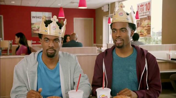 Burger King 2 for $10 Whopper Meal TV Spot, 'Twins' - 7437 commercial airings