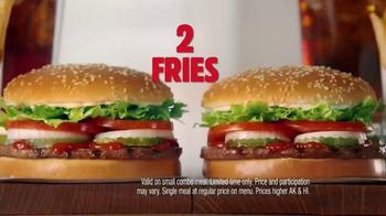 Burger King 2 for $10 Whopper Meal TV Spot, 'Twins' - Thumbnail 6