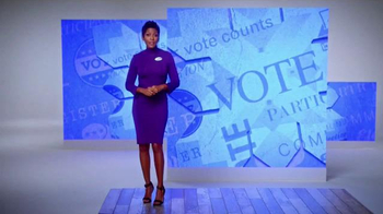 The More You Know TV Spot, 'Your Vote Counts' Feat. Hoda Kotb, Lester Holt - Thumbnail 1