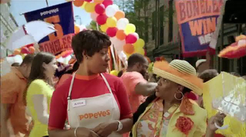 Popeyes $5 Boneless Wing Bash TV Spot, 'Buckle Up!' - 2057 commercial airings