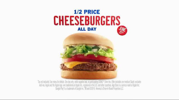 Sonic Drive-In TV Half Price Cheeseburgers TV Spot, 'Founding Fathers' - Thumbnail 8