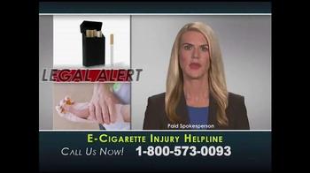 Injury Helpline TV Spot, 'E-Cigarette Explosions' - Thumbnail 1