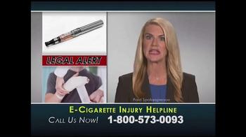 Injury Helpline TV Spot, 'E-Cigarette Explosions' - Thumbnail 2