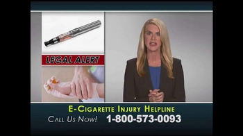 Injury Helpline TV Spot, 'E-Cigarette Explosions'