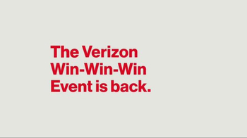 Verizon Win-Win-Win Event TV Spot, 'It's Back: iPhones' - Thumbnail 1