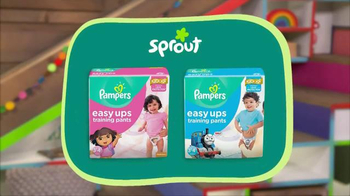 Pampers TV Spot, 'Sprout: Make Potty Time Fun Time'