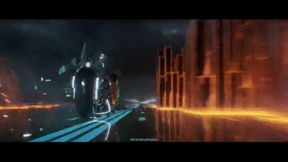 Tron Run R Tv Commercial You Can T Hide But You Can Run
