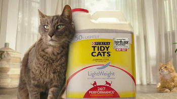 Purina Tidy Cats TV Spot, 'Stank Face' - Thumbnail 8