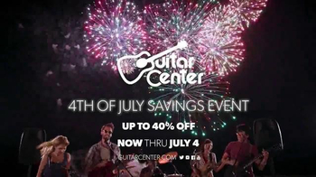 Guitar Center 4th of July Savings Event TV Spot, 'Make Your Own Fireworks' - Thumbnail 5