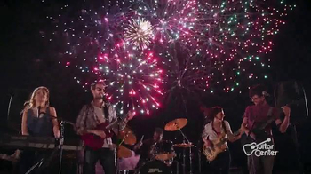Guitar Center 4th of July Savings Event TV Spot, \'Make Your Own Fireworks\'
