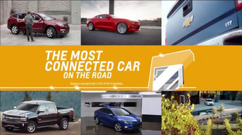 Chevrolet Bonus Tag TV Spot, 'The Most Connected Car' - Thumbnail 5