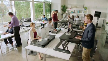 Varidesk TV Spot, 'Get Your Workspace Moving' - Thumbnail 1