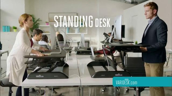 Varidesk TV Spot, 'Get Your Workspace Moving'
