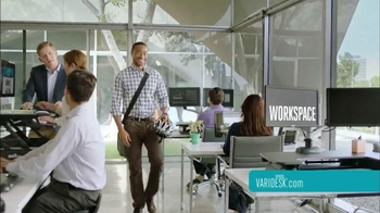 Varidesk TV Spot, 'Get Your Workspace Moving' - Thumbnail 3