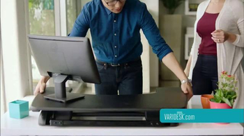 Varidesk TV Spot, 'Get Your Workspace Moving' - Thumbnail 6