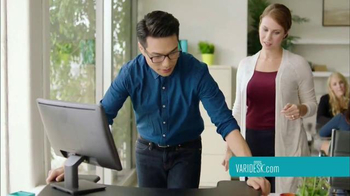 Varidesk TV Spot, 'Get Your Workspace Moving' - Thumbnail 7