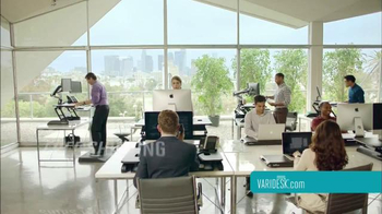 Varidesk TV Spot, 'Get Your Workspace Moving' - Thumbnail 8