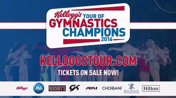 2016 Kellogg's Tour of Gymnastics Champions TV Spot, 'In Your Town' - Thumbnail 10