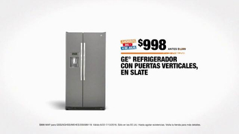 The Home Depot Ahorros del 4 de Julio TV Spot, 'GE y Samsung' [Spanish] - Thumbnail 9