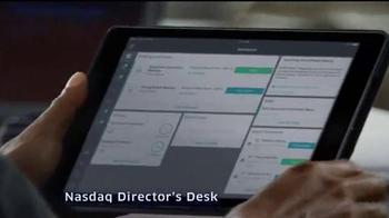 NASDAQ Corporate Solutions TV Spot 'Performance Intel'