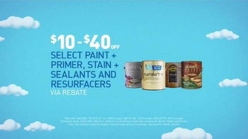 Lowe's 4th of July Savings TV Spot, 'Paints, Primers and Mulch' - Thumbnail 3