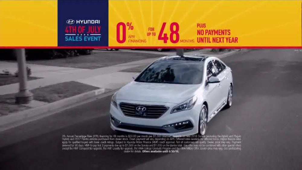 Hyundai 4th of July Sales Event TV Commercial, 'Better Is the Reason'