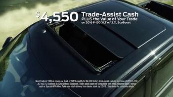 2016 Ford F-150 TV Spot, 'Trade-Assist Cash' - Thumbnail 3
